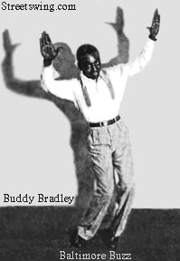 Buddy Bradley doing the Baltimore Buzz, circa:1927