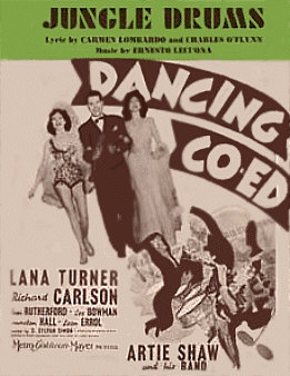 The dancing CO-ED Sheet Music Cover