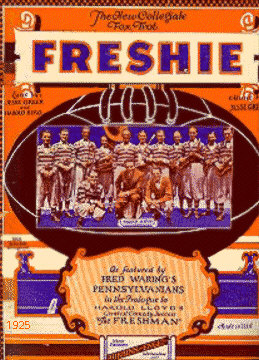The FRESHIE Sheet Music Cover