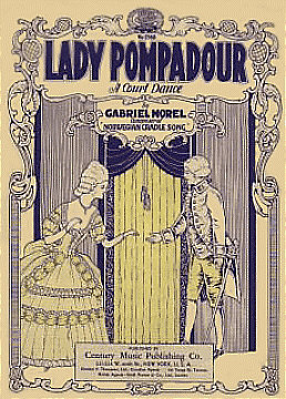 Lady Pompadour  (A Court Dance) circa 1926