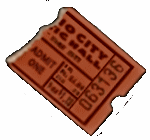 Harvest Moon Ball Ticket Stub