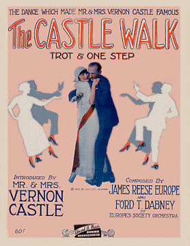 The Castle Walk circa. 1914