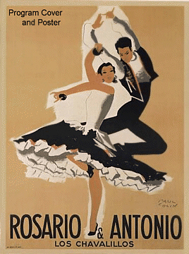 example of Program Poster of Roasrio and Antonio