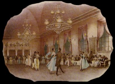 Quadrille photo of dancers - History - Origins