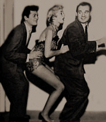 Tony Curtis and Janet Leigh do the Bunny Hop origin history page