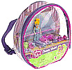 Fashion Polly School Backpack - features dance studio