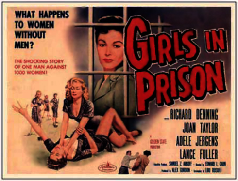 Girls In Prison Movie Poster