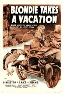 Blondie Takes a Vacation, circa 1939