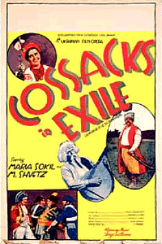 Cossacks in Exile Original Poster