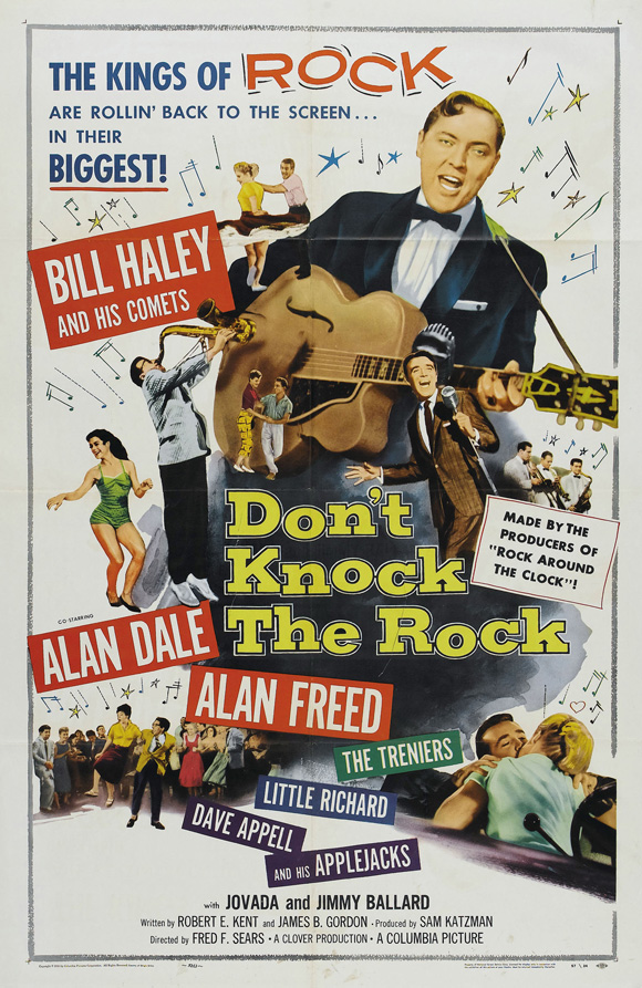 Don't Knock The Rock Movie Poster 1956
