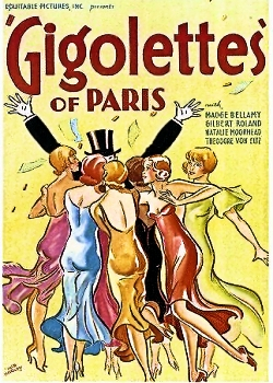 Poster for Gigolettes of Paris