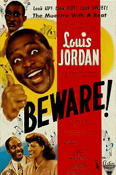 Louis Jordan - Beware Movie Poster