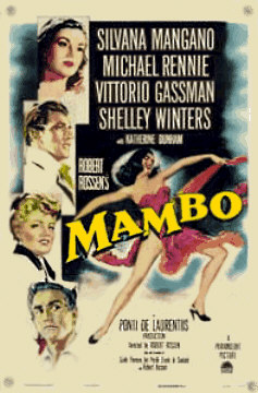 Mambo dance movie poster