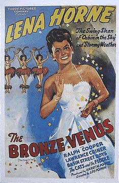 The Bronze Venus Poster featuring Lena Horne