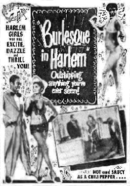 Burlesque in Harlem Movie Poster