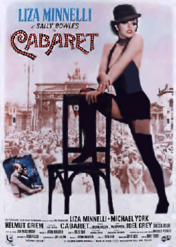 Cabaret Movie Poster featuring Liza Minnelli
