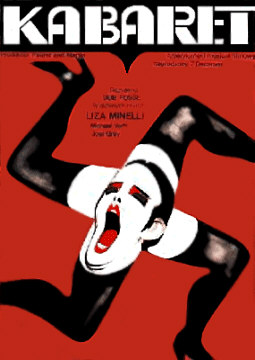 Kabaret Movie Poster featuring Liza Minnelli.