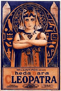 Cleopatra Movie Poster Features Theda Bara
