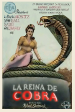 1944 - La Reina de Cobra (Cobra Woman)  Features Maria Montez, Sabu, Lon Chaney