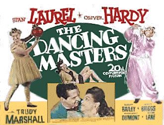 The Dancing Master Lobby Card