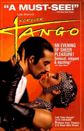 Forever Tango Broadway Poster