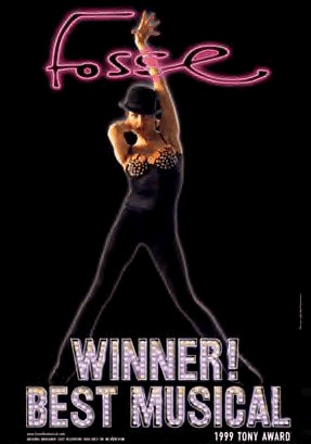 fosse poster - winner best musical