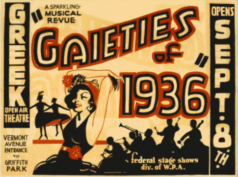 Gaieties of 1936 Poster