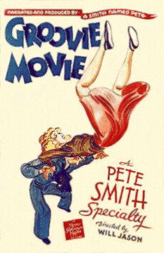 Pete Smiths Groovy Movie Poster
