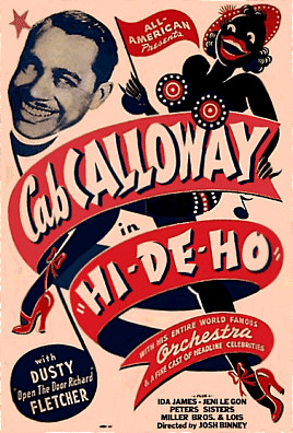 Cab Calloway in HI-DE-HO Movie Poster