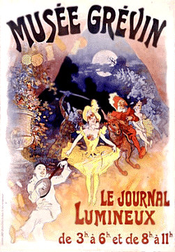 Musee Grevin - Le Journal Luminex Poster