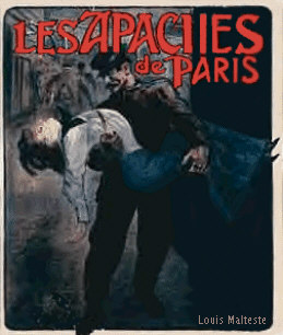 Les Apaches de Paris Poster