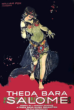 Salome Poster featuring Theada Bara
