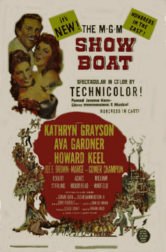 Show Boat featuring Marge and Gower Champion, Ava Gardner