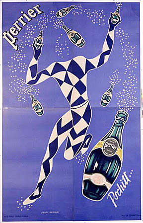 Perrier Advertisement Poster