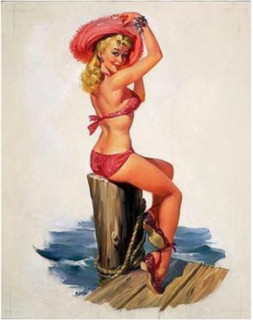 Pin Up Girls: Joyce Ballantyne