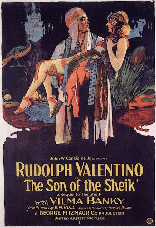 Son of The Sheik Poster - Rudolph Valentino