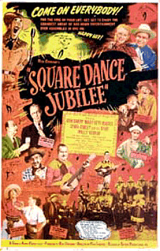 Square Dance Jubilee Poster