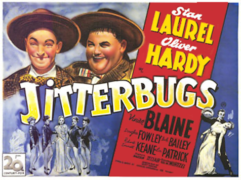 "Laurel and Hardy ""Jitterbugs"""