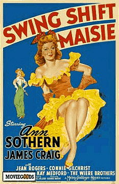 1943: Swing Shift Masie Poster