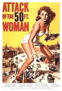Attack of the 50 foot woman (has swing dance scenes (c.1950's)