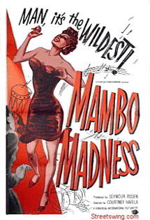 Featured: Mambo Madness Vintage Dance Poster