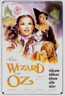 Featured: The Wizard of Oz Vintage Dance Poster (1939)