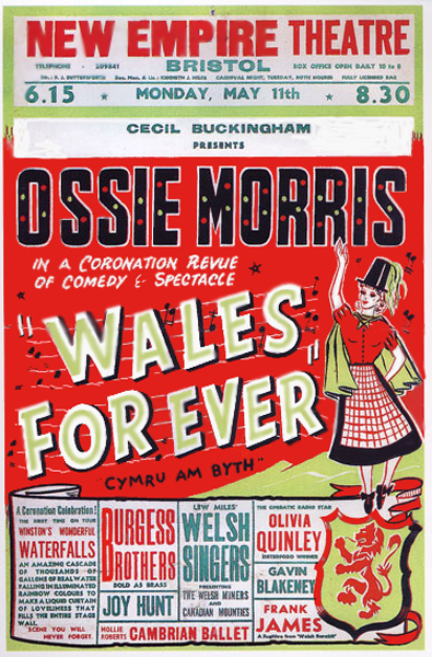 Cecil Buckingham Poduction of  Ossie Morris -- Wales Forever