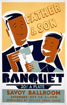 Chicago Savoy Ballroom Father and Son Banquet