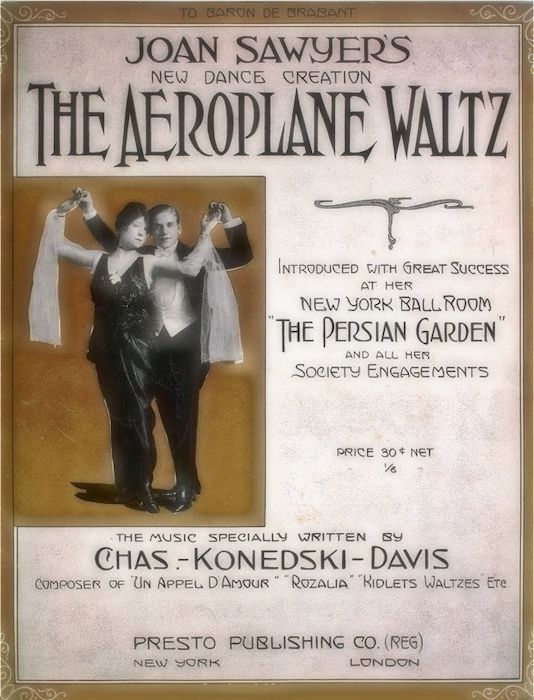 Aeroplane Waltz Sheet Music Cover