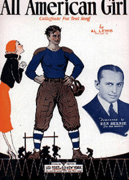 All American Girl Sheet Music Cover