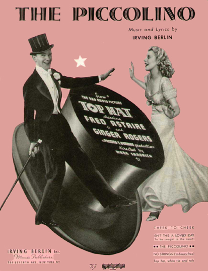 The Piccolino Sheet Music Cover