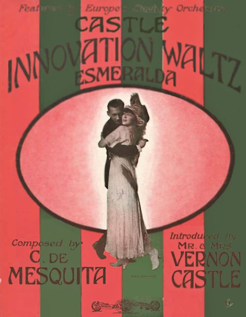 Castle Innovation Waltz - Esmeralda Sheet Music Cover