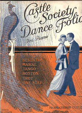 Castle Society Dance Folio Cover