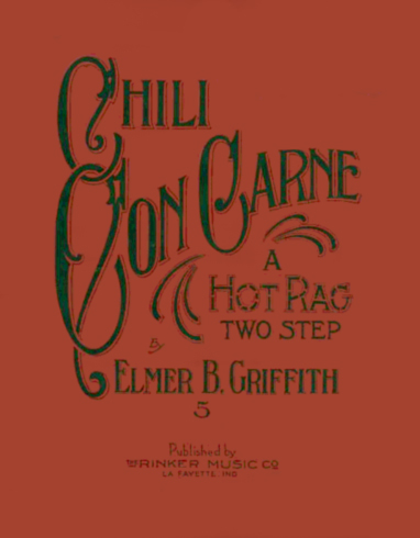 Chili Con Carni Sheet Music Title